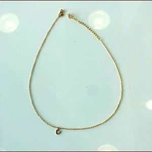 Jewelry - Gold initial C necklace